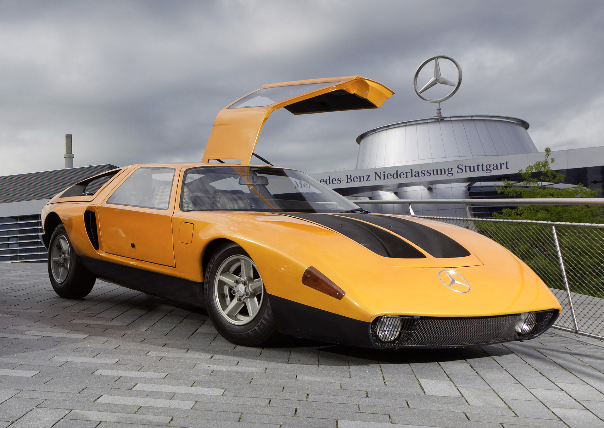 Mercedes Benz C111 Drops By Jay Leno S Garage Video