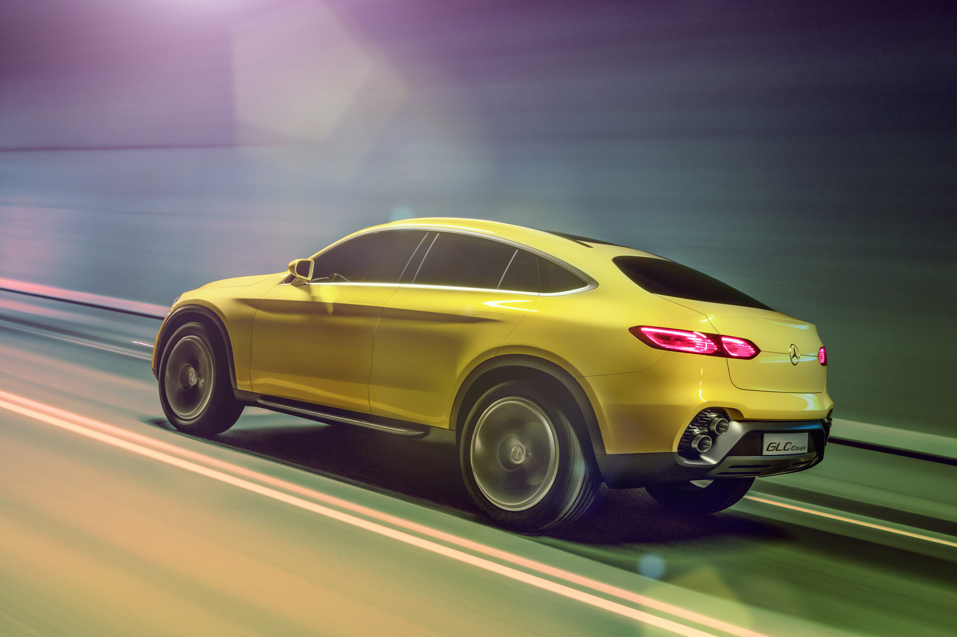 BMW X4-Rivaling Mercedes GLC Coupe Previewed By New Concept
