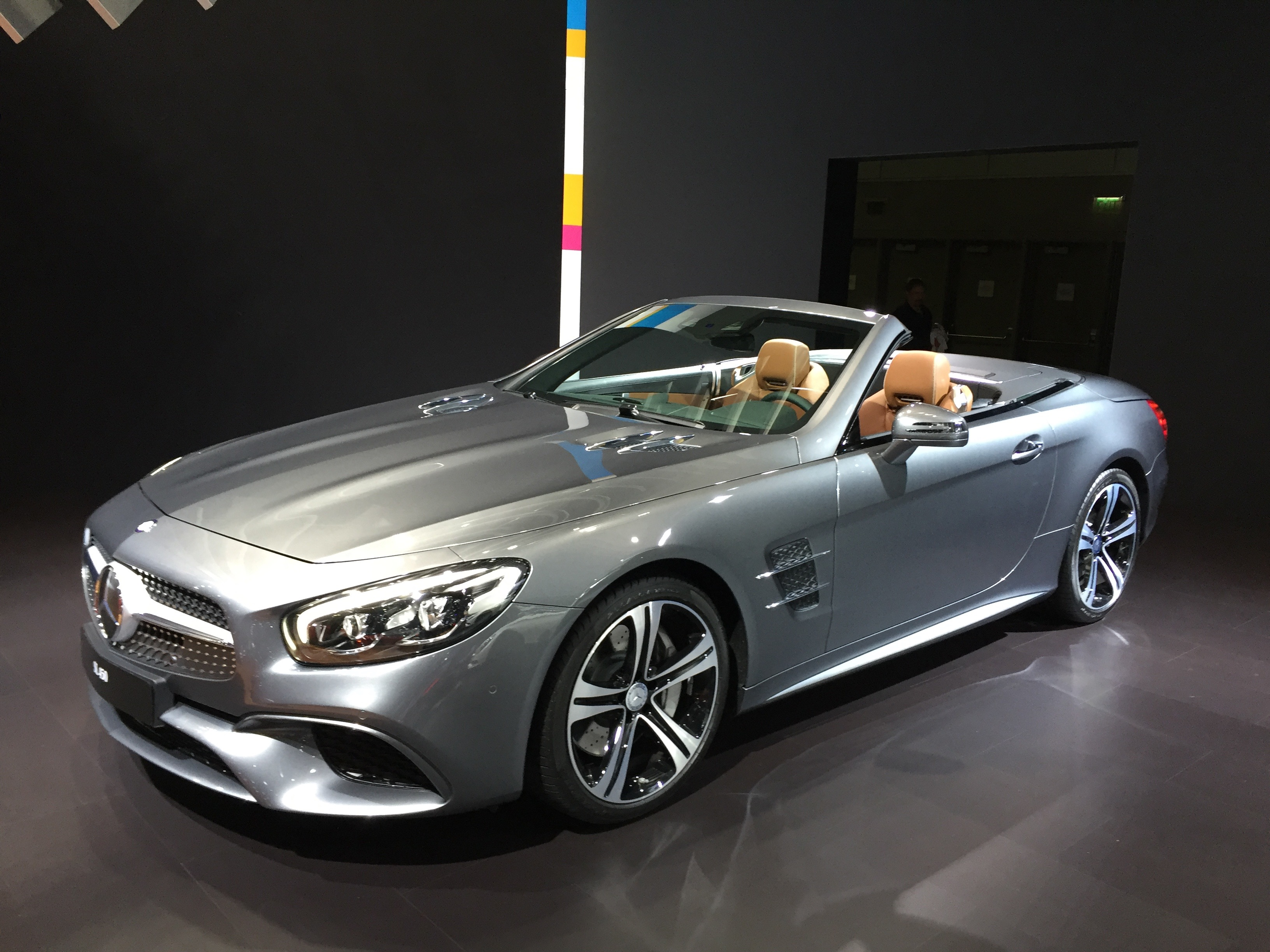 2017 Mercedes Benz Sl Gets Svelte New Look Nine Speed