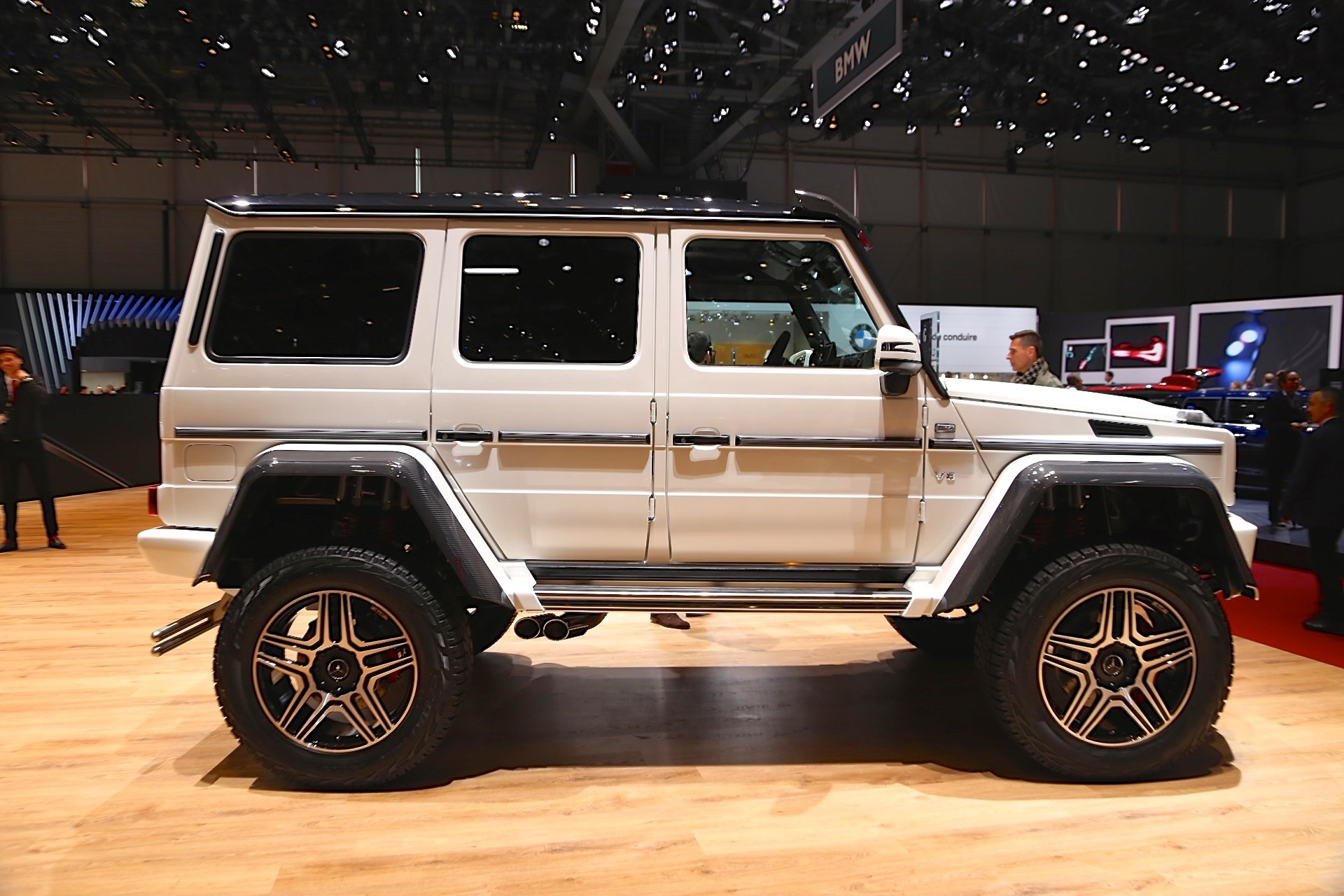 Cars For Sale Los Angeles >> Mercedes-Benz G500 4x4² concept debuts at 2015 Geneva auto show