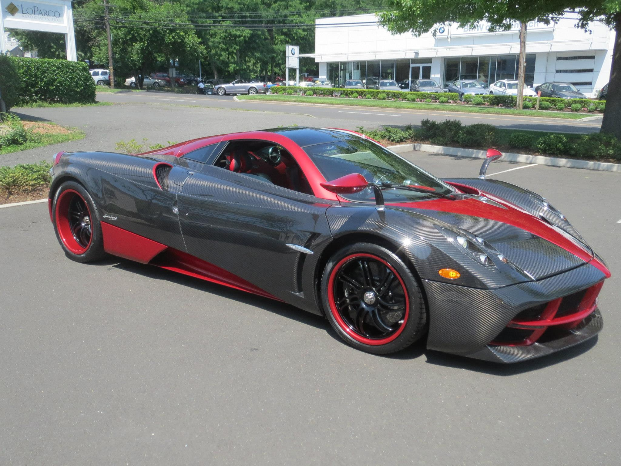 Millers Auto S One Of The First Pagani Huayras Delivered In The Us Gallery