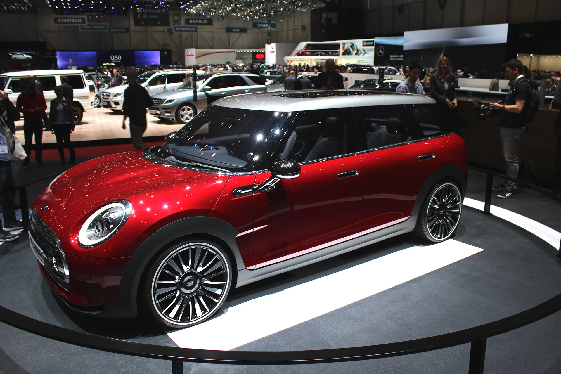 Mini clubman concept live photos from geneva motor show for What does a motor vehicle report show