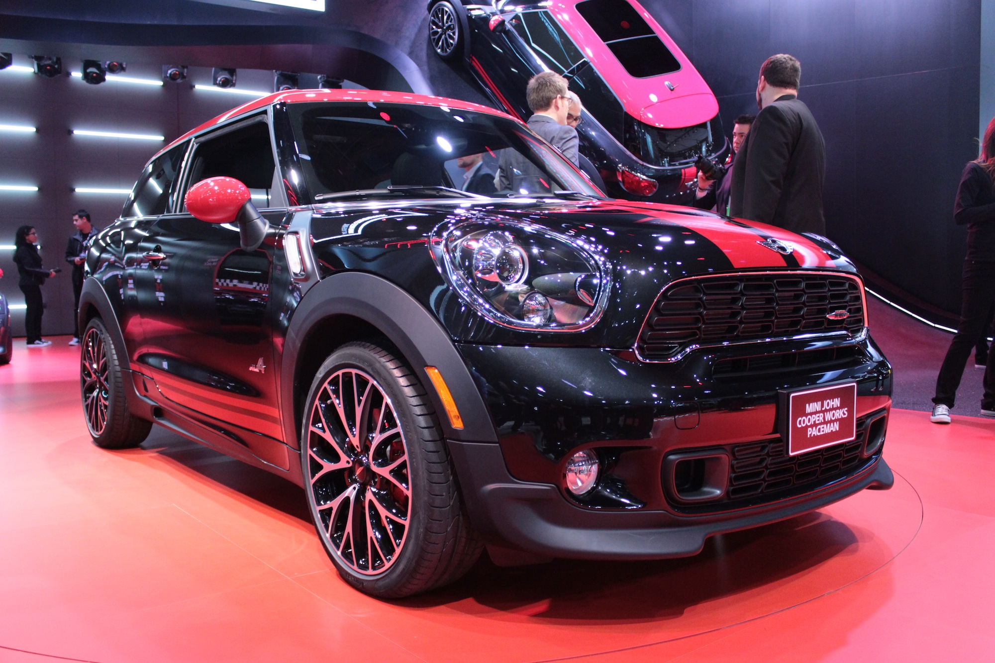 mini john cooper works paceman the official details. Black Bedroom Furniture Sets. Home Design Ideas