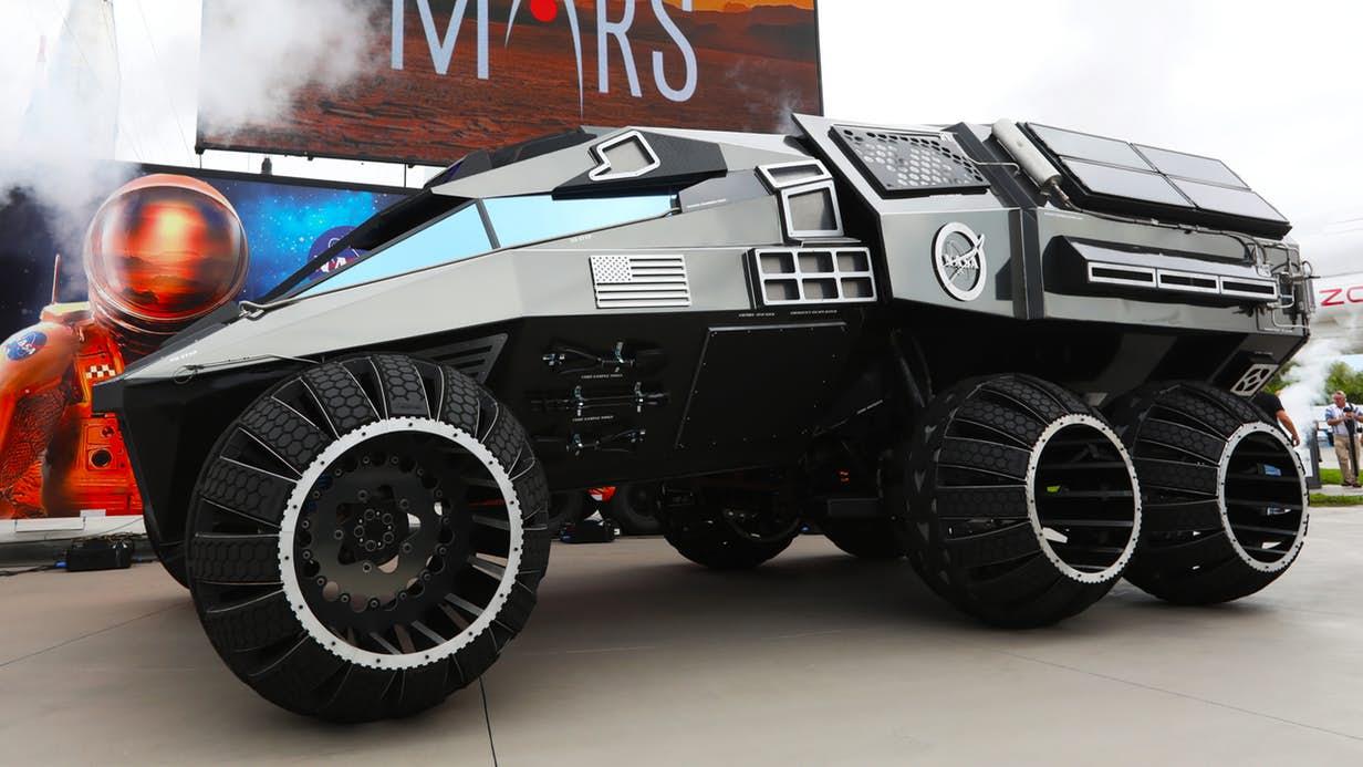 NASA reveals new Mars rover concept