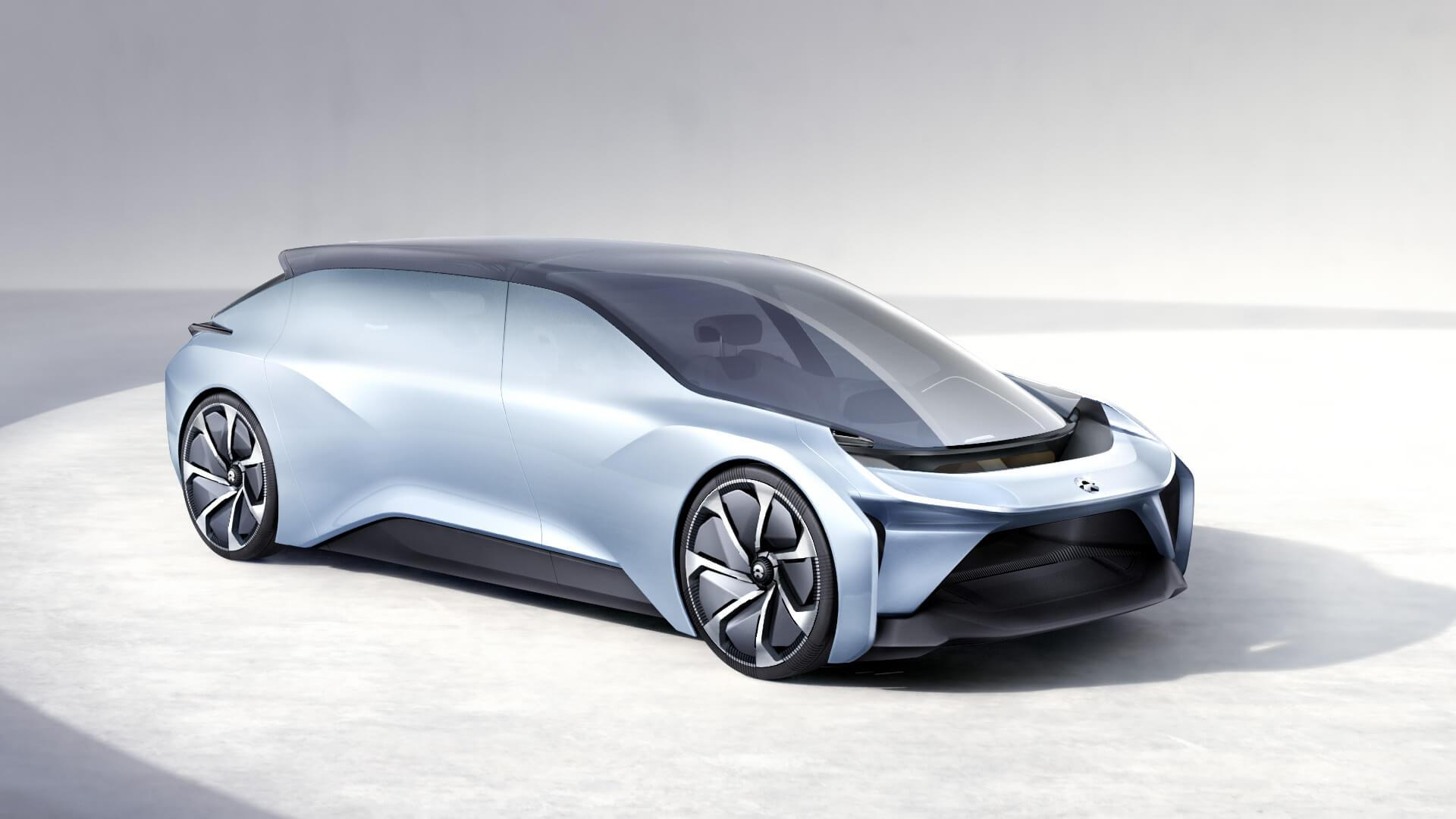 Nio Eve Concept Is Yet Another Chinese Luxury Electric Suv