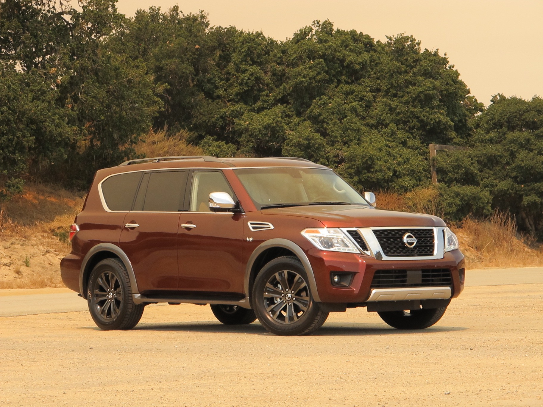 2017 nissan armada review ratings specs prices and photos the car connection. Black Bedroom Furniture Sets. Home Design Ideas