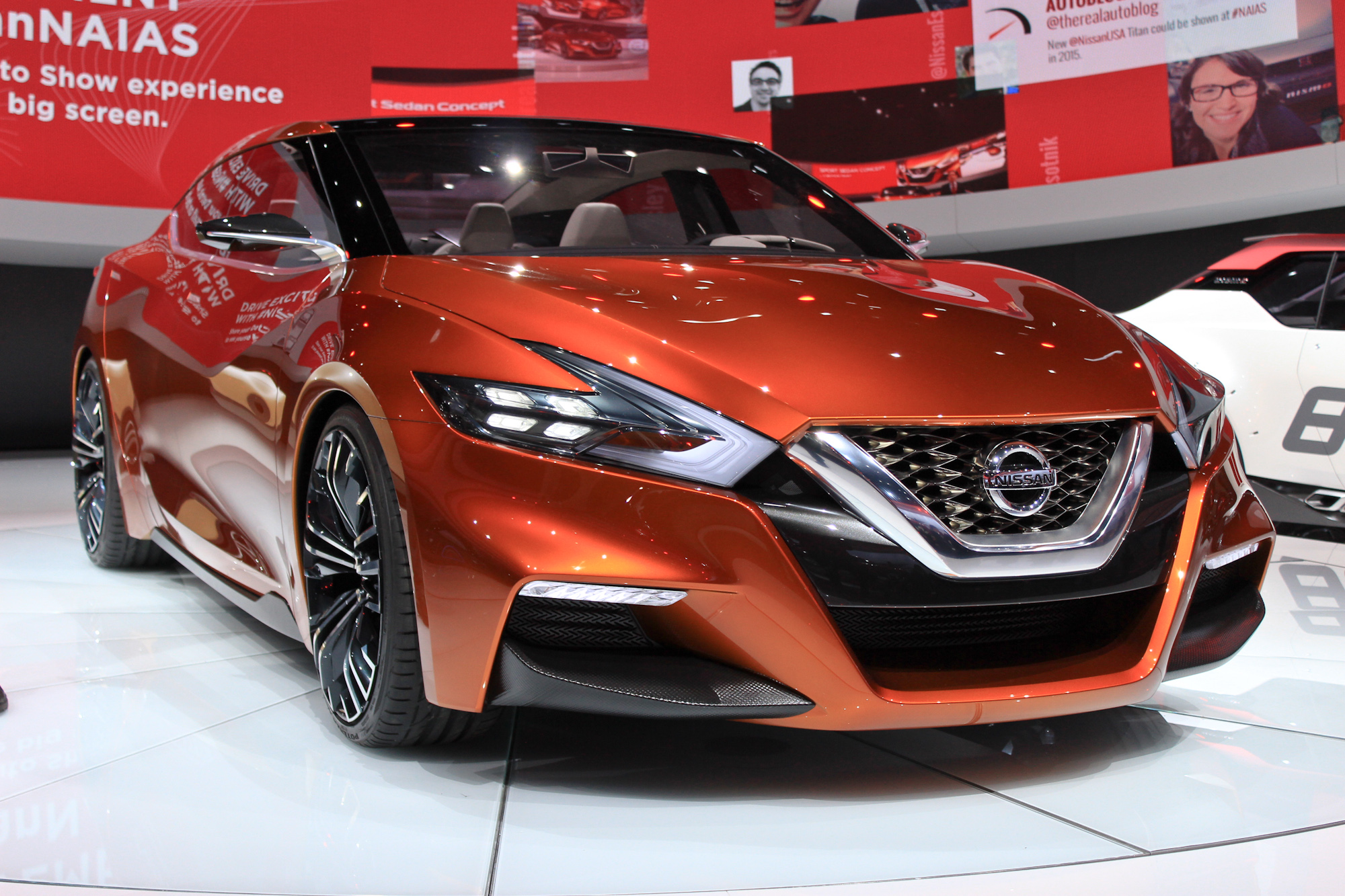 Nissan Sport Sedan Concept Debuts At Detroit, Previews