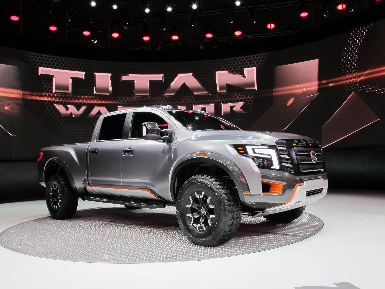 nissan shows off road oriented titan warrior concept. Black Bedroom Furniture Sets. Home Design Ideas
