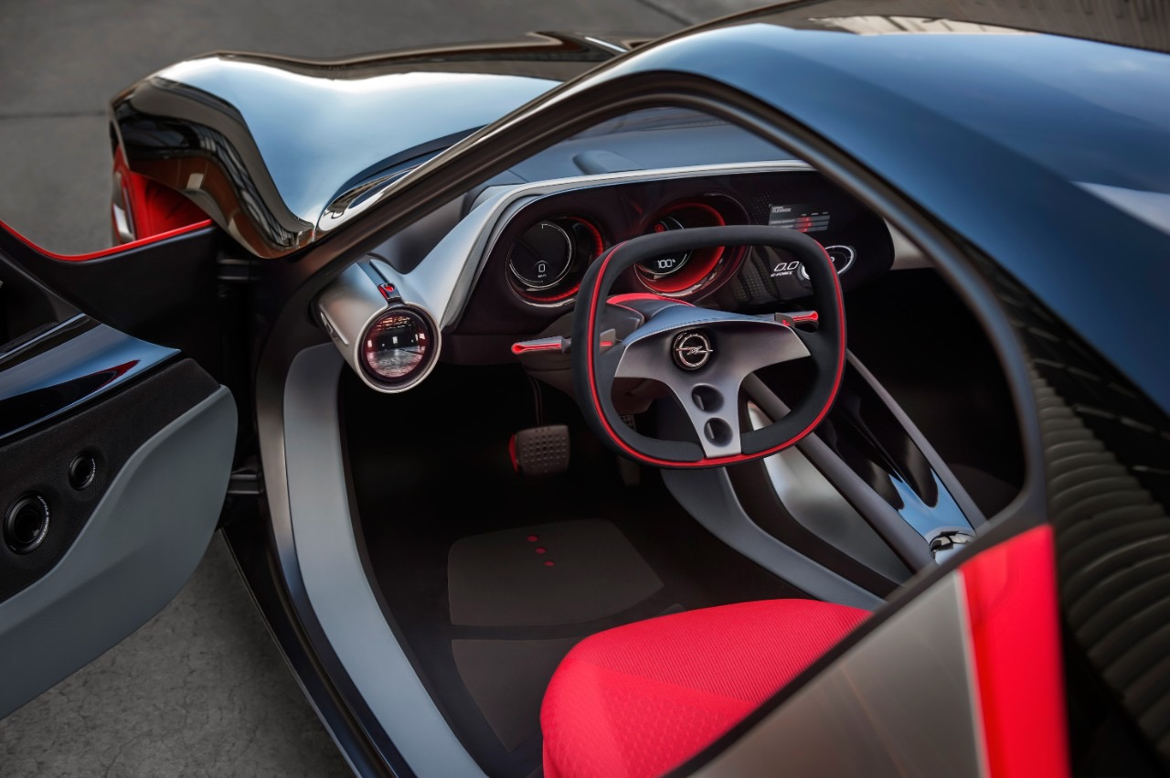 opel shows off interior of geneva bound gt concept. Black Bedroom Furniture Sets. Home Design Ideas