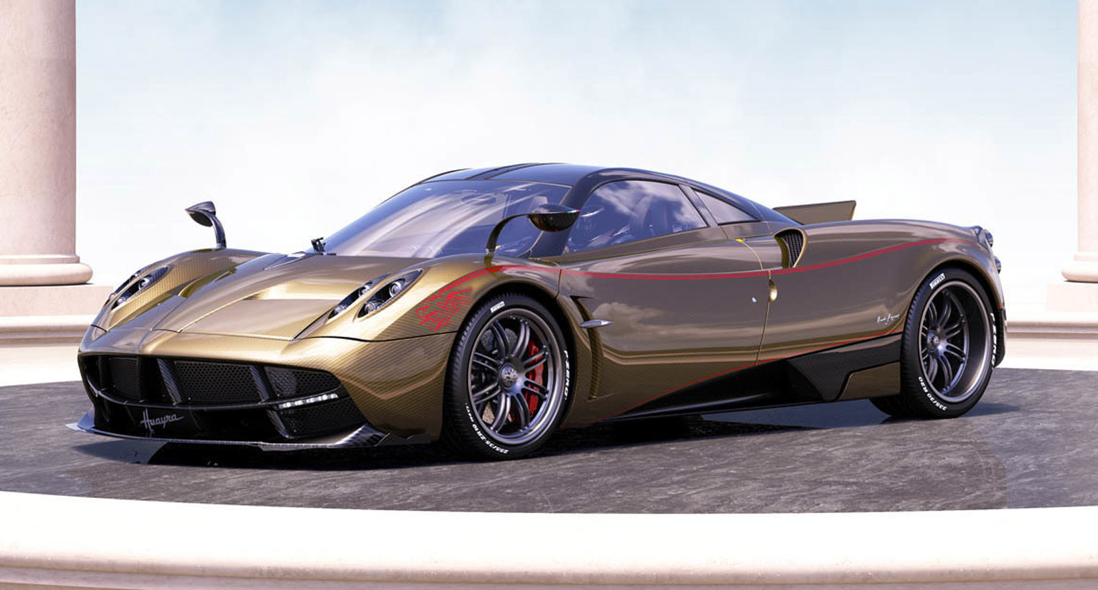 Pagani Launches In China With Trio Of Special Edition Huayras