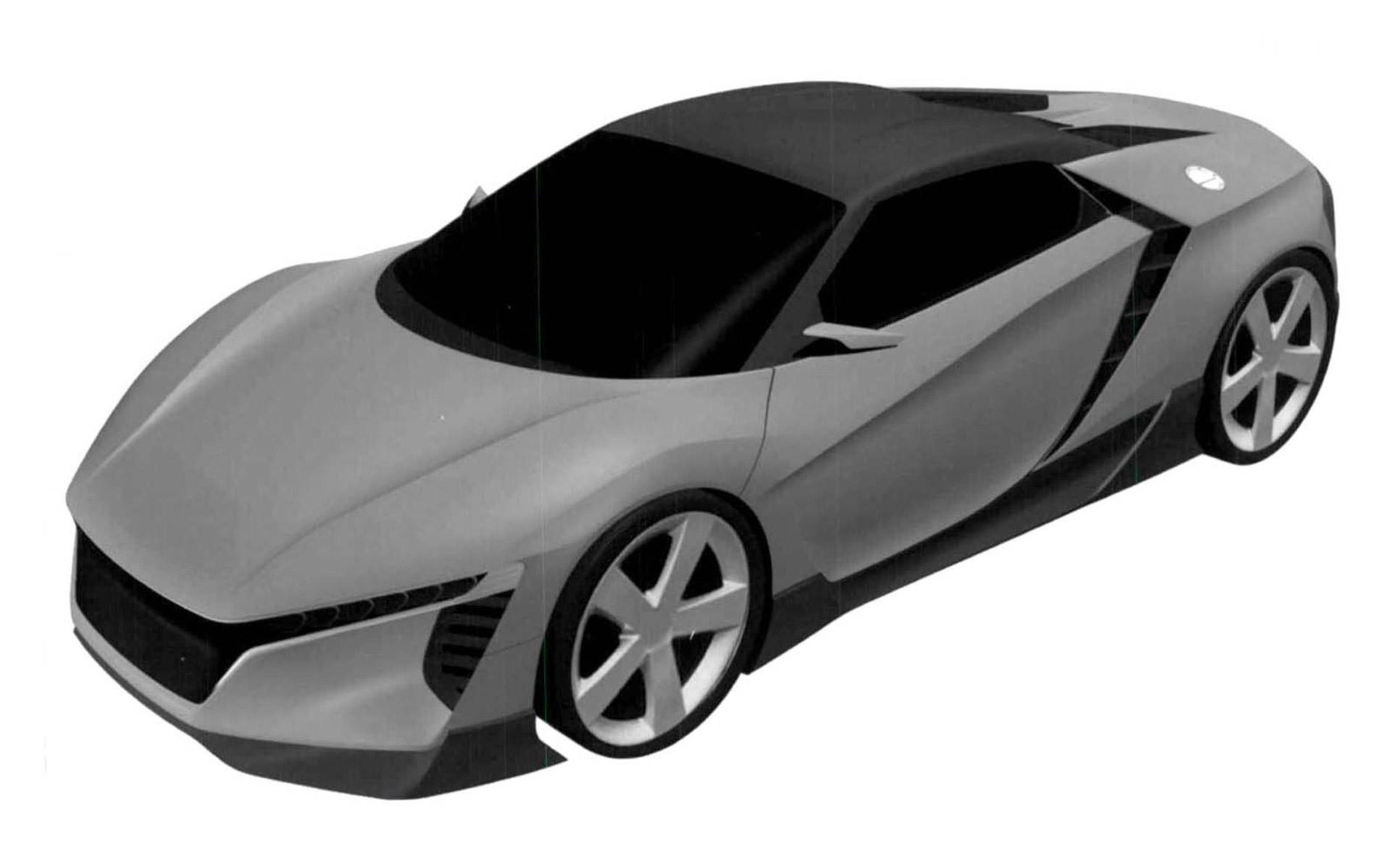 Honda Mid Engine Sports Car To Pack 1 5 Liter Turbo