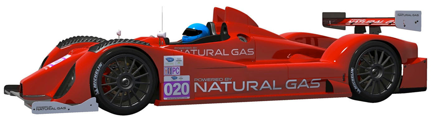 Patrick Racing To Bring Natural Gas Race Cars To American