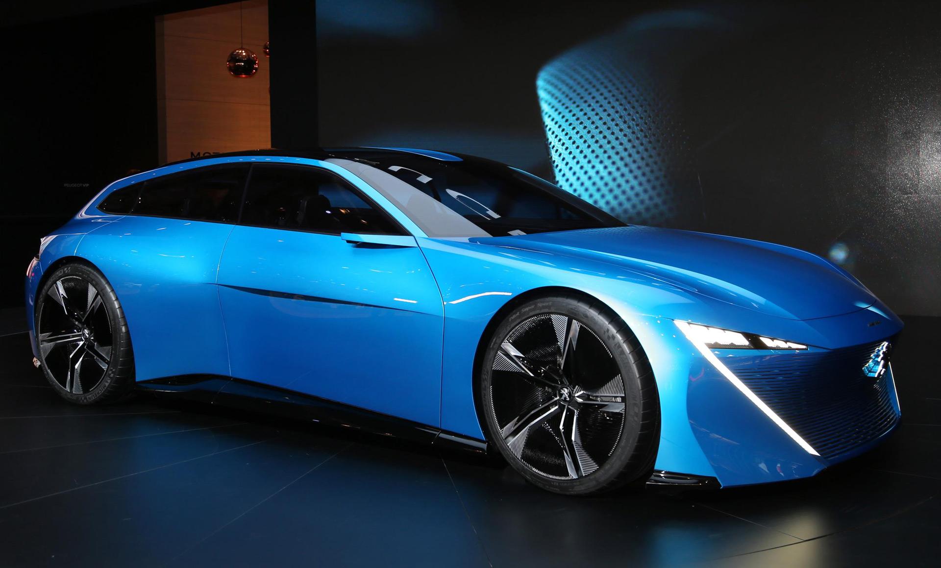 peugeot instinct concept previews hybrid  driving technologies
