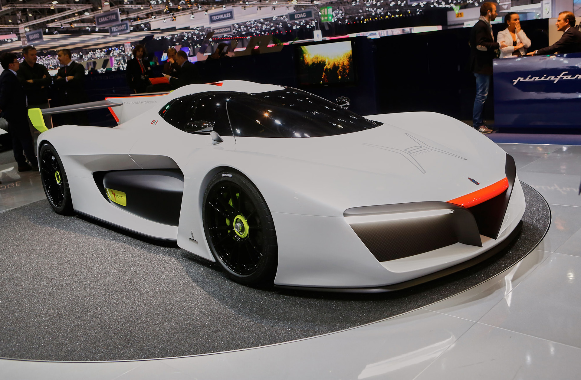 Pininfarina H2 Speed Concept Is An Eco Friendly Race Car