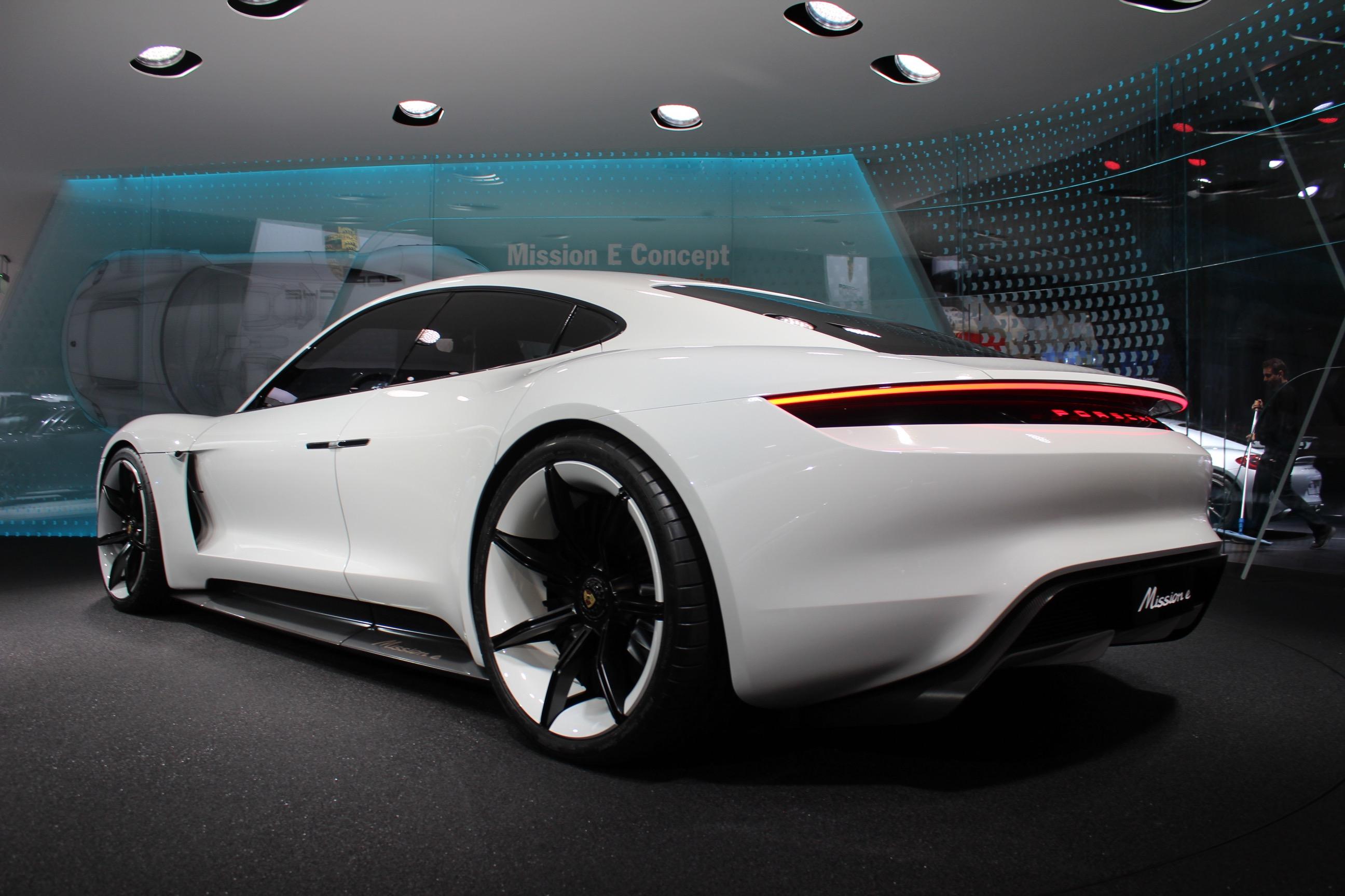 Porsche Design Chief Talks About The Mission E Concept Video