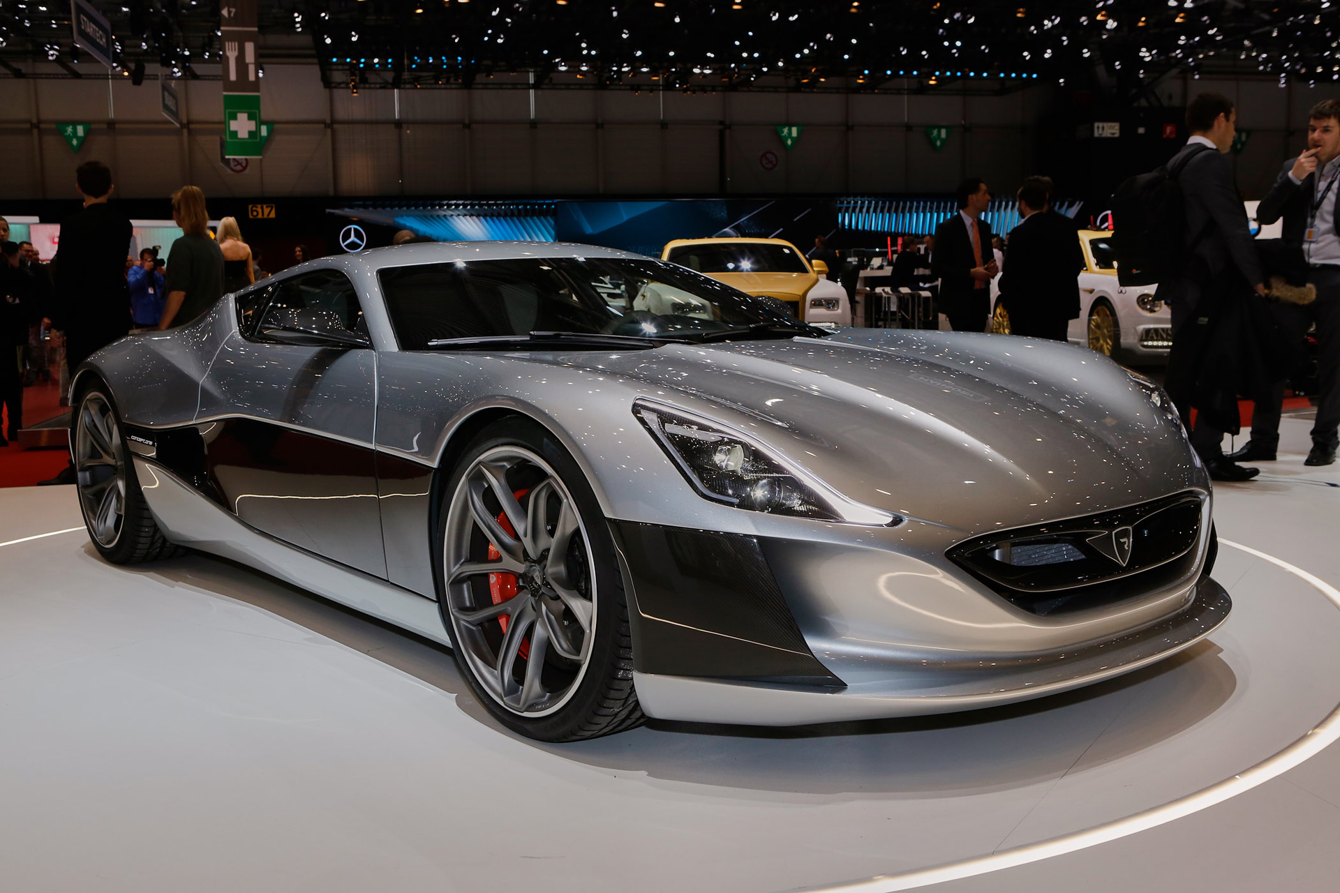 Rimac Concept One Electric Supercar Debuts In Production