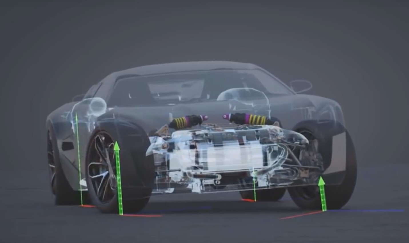 How The Rimac Concept One S Torque Vectoring System Does