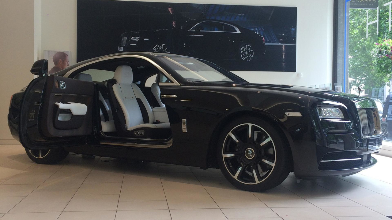 Rolls Royce Reveals One Off Wraith Commissioned By Rock