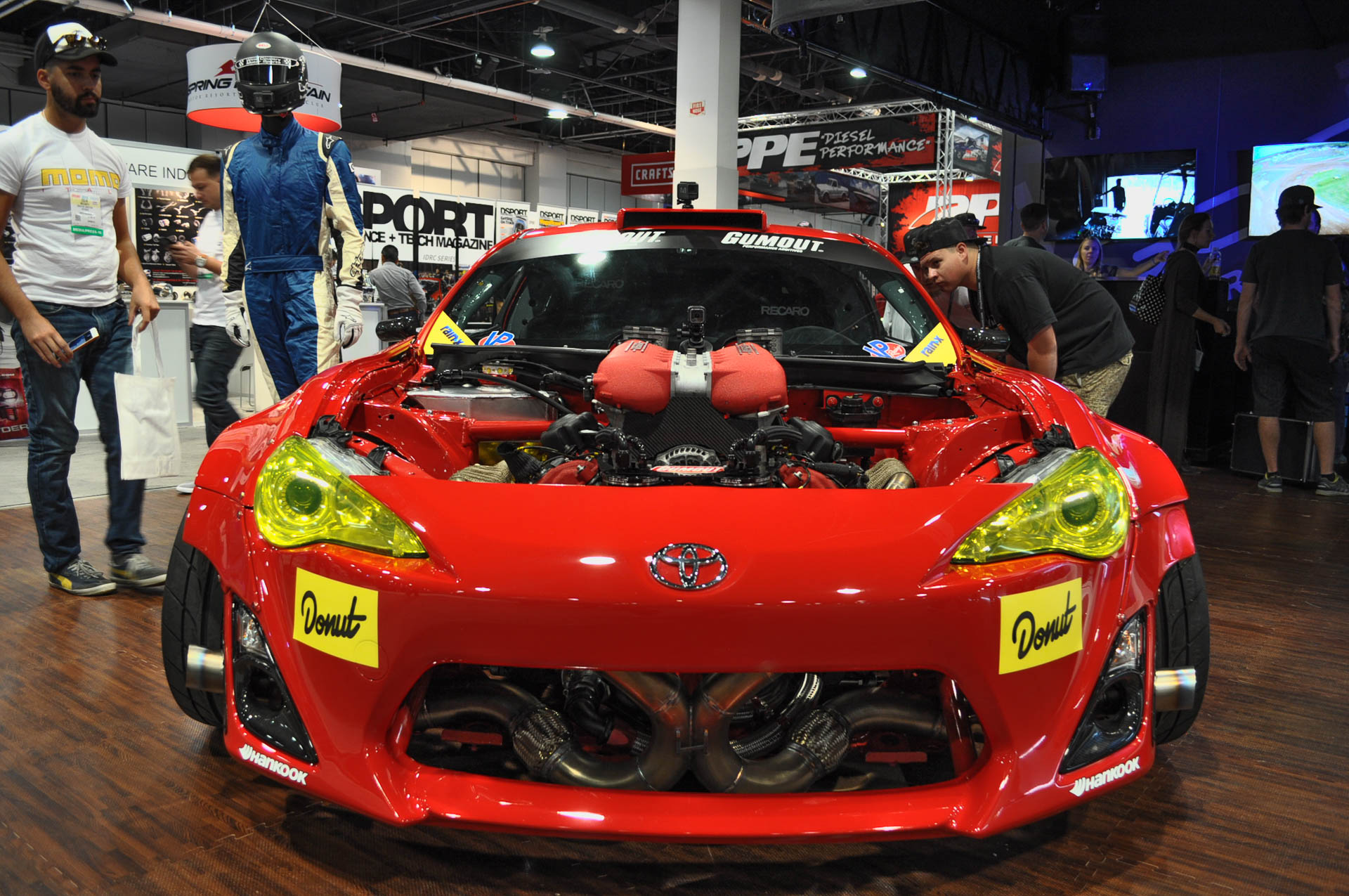 toyota 86 with ferrari 458 v 8 is an insane rev machine. Black Bedroom Furniture Sets. Home Design Ideas