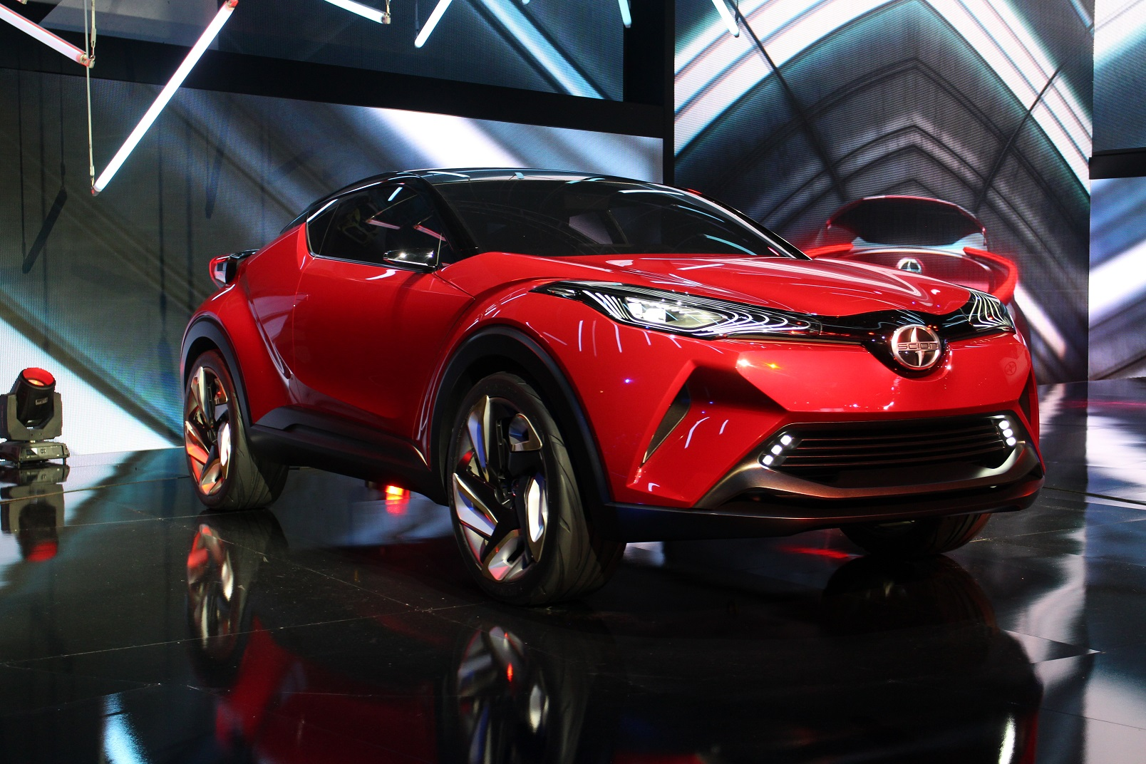 toyota s subcompact suv to be a scion in us. Black Bedroom Furniture Sets. Home Design Ideas