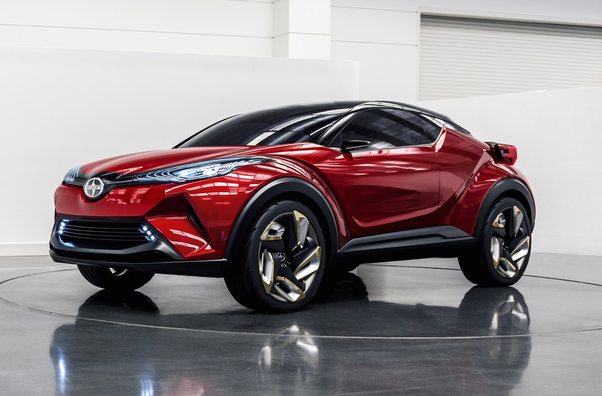 Toyota S Next Crossover Is The Scion C Hr Concept