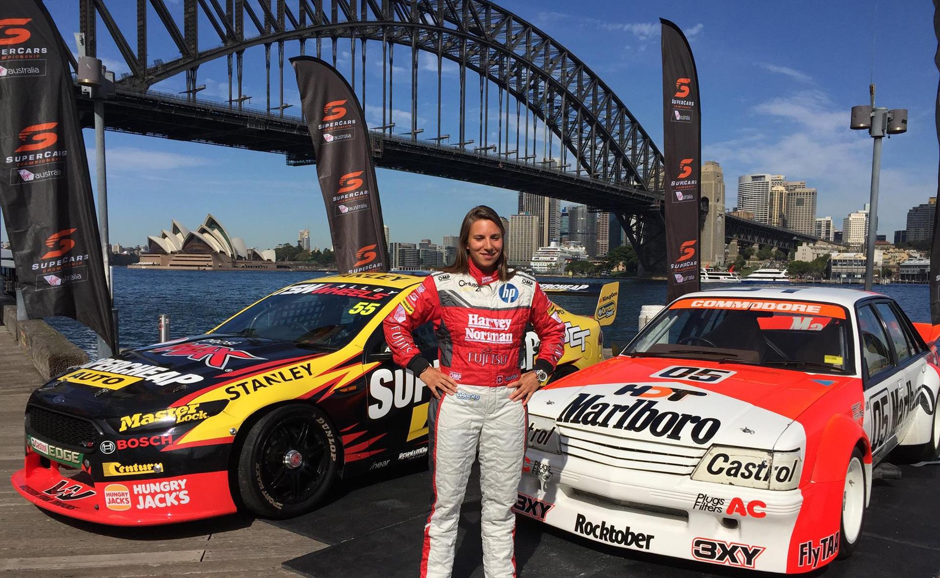 Former IndyCar driver Simona de Silvestro joins Australia ...