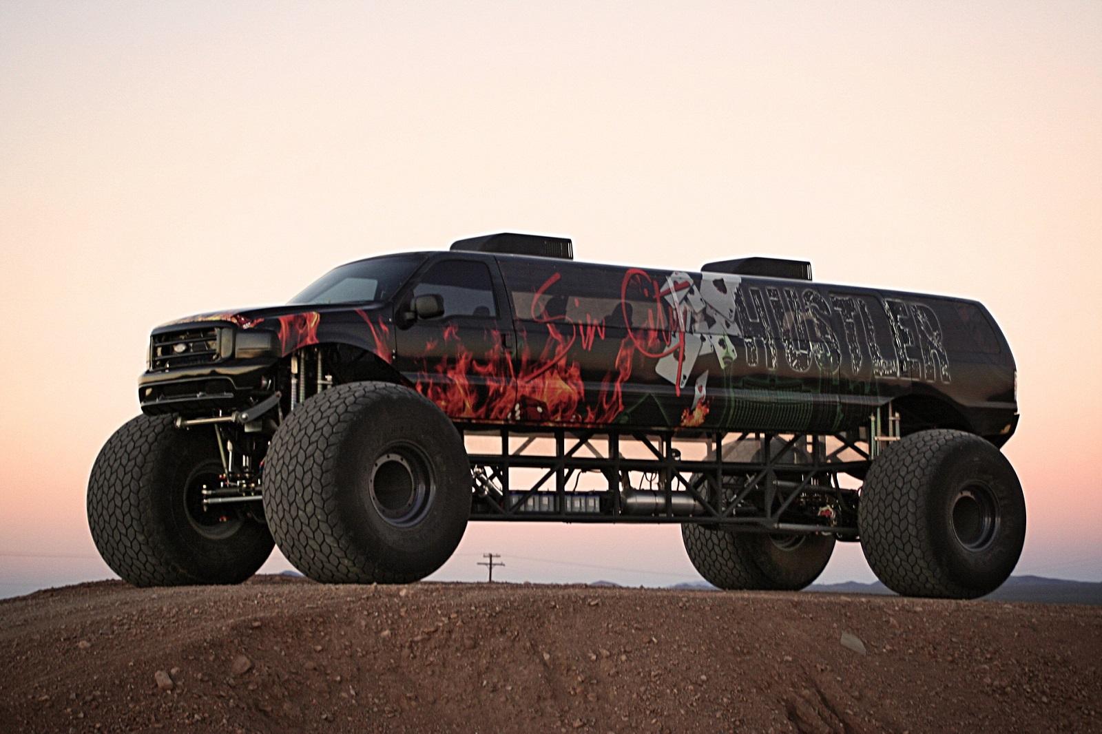 4Runner Trd Off Road >> 'Sin City Hustler' Is A $1M Ford Excursion Monster Truck ...