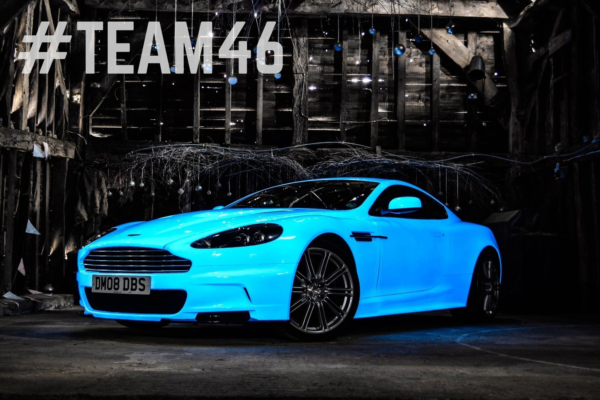 gumball 3000 aston martin sports new glow in the dark paint. Black Bedroom Furniture Sets. Home Design Ideas