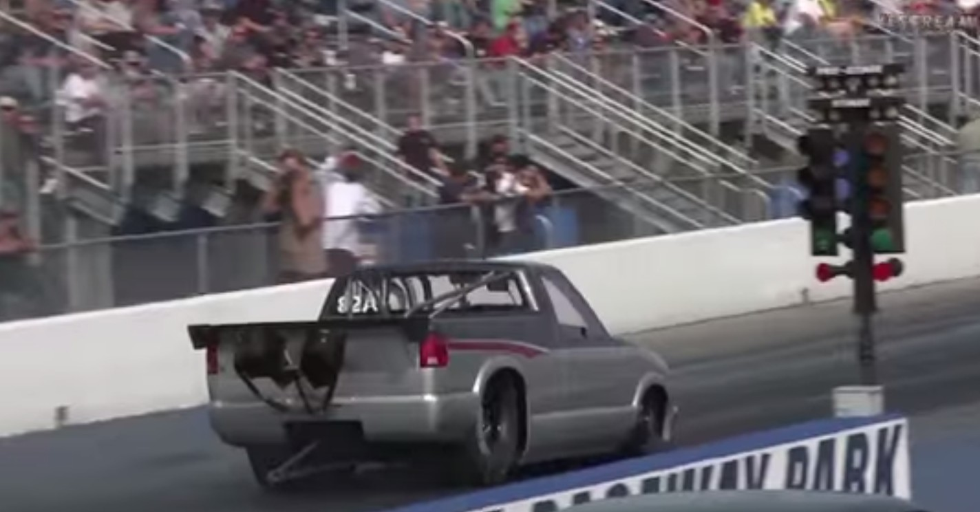 Street-Legal Drag Truck Sets New Fast Pass Record: Video