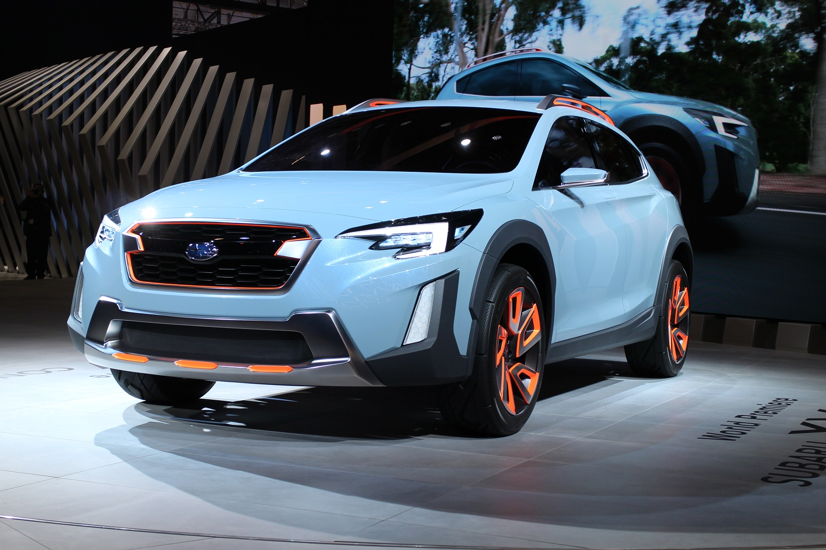 subaru xv concept hints at next crosstrek due for 2018 model year. Black Bedroom Furniture Sets. Home Design Ideas