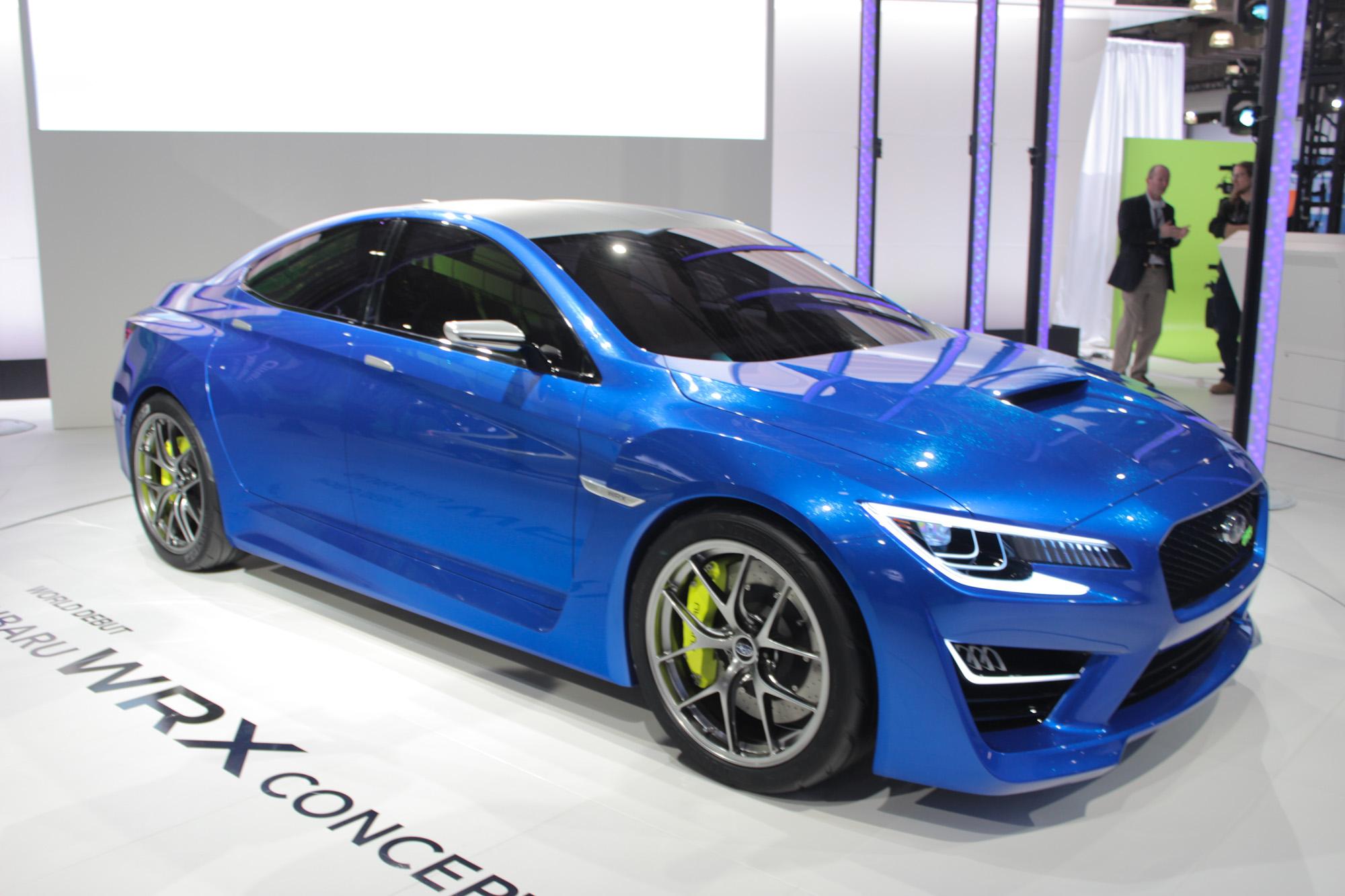 Subaru WRX Concept Video Preview New York Auto Show