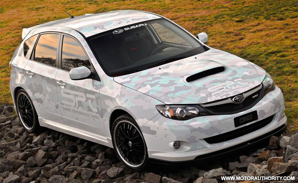 Subaru performance tuning prepares 275hp impreza wrx concept vanachro Image collections