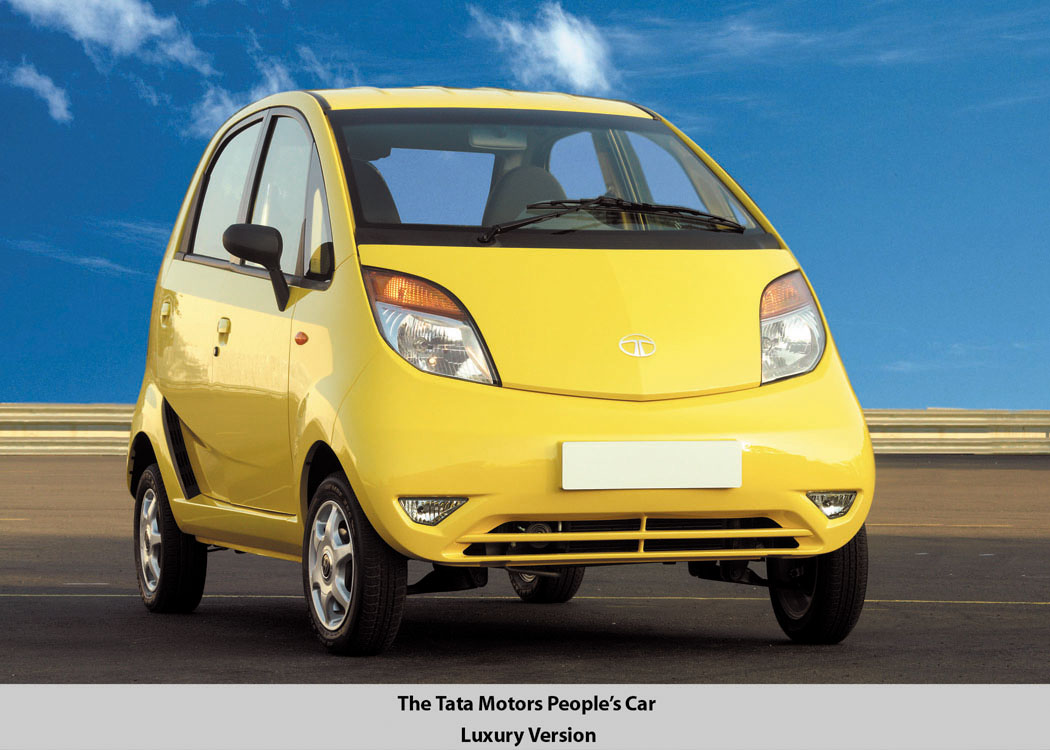 world s cheapest car tata nano gets more features better economy. Black Bedroom Furniture Sets. Home Design Ideas