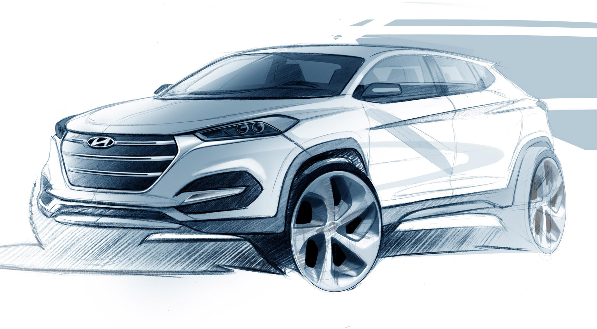 2016 hyundai tucson teased ahead of 2015 geneva motor show video. Black Bedroom Furniture Sets. Home Design Ideas