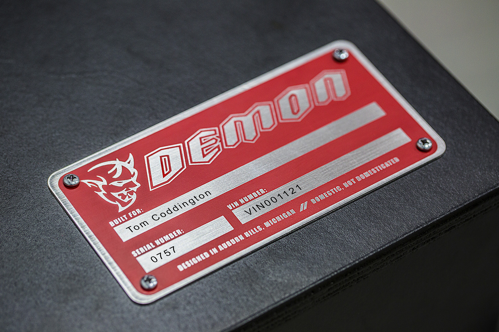 Does the 2018 Dodge Challenger SRT Demon have 757 horsepower?