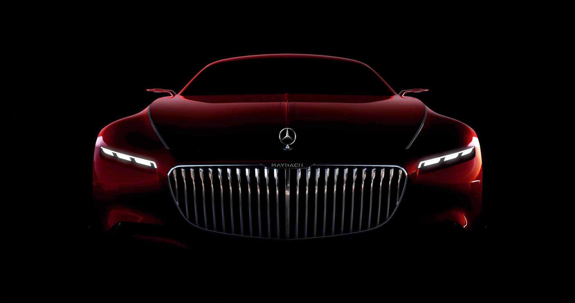 Vision Mercedes Maybach 6 Concept Teased Ahead Of Monterey