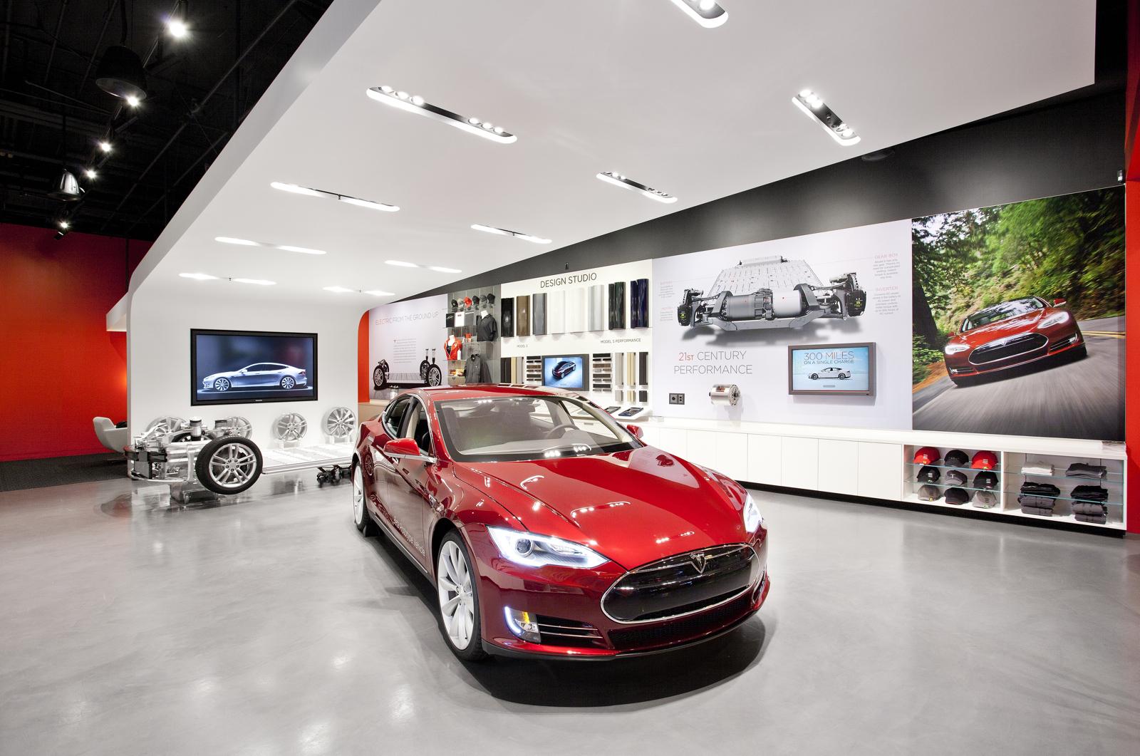 Auto Dealer Groups Escalate Battle Against Tesla Stores