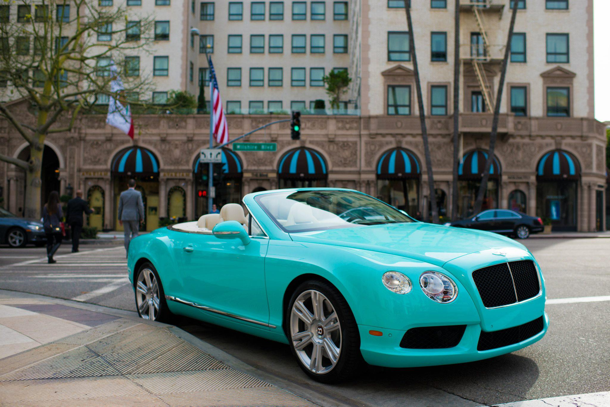 Beverly Hills Motor Cars: Beverly Hills Dealer Commissions Tiffany-Themed Bentleys