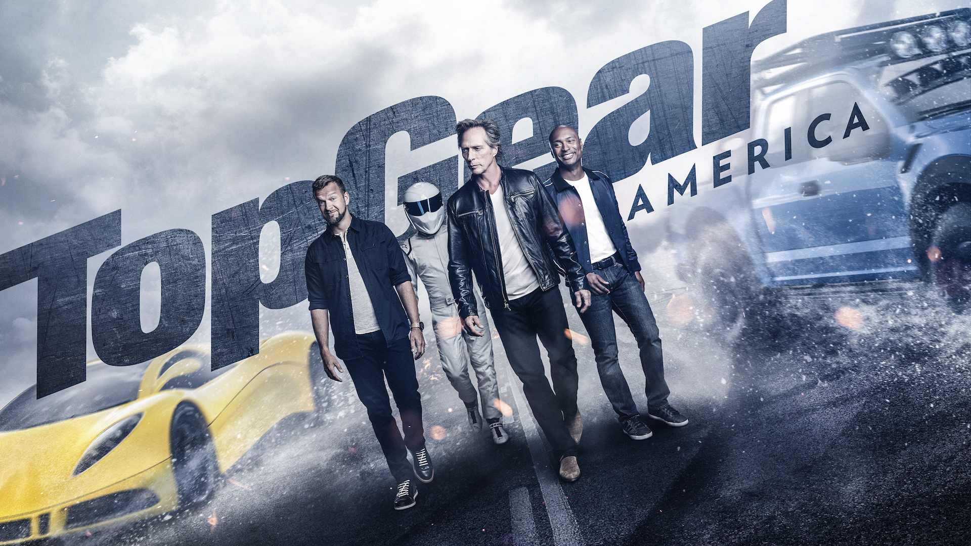 Top Gear America Presenters William Fichtner Tom Ford And Antron Brown H