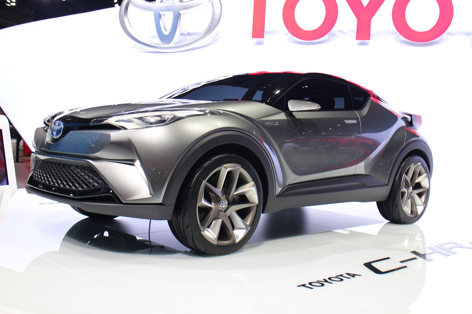 Toyota Shows Second Concept For Subcompact Crossover At
