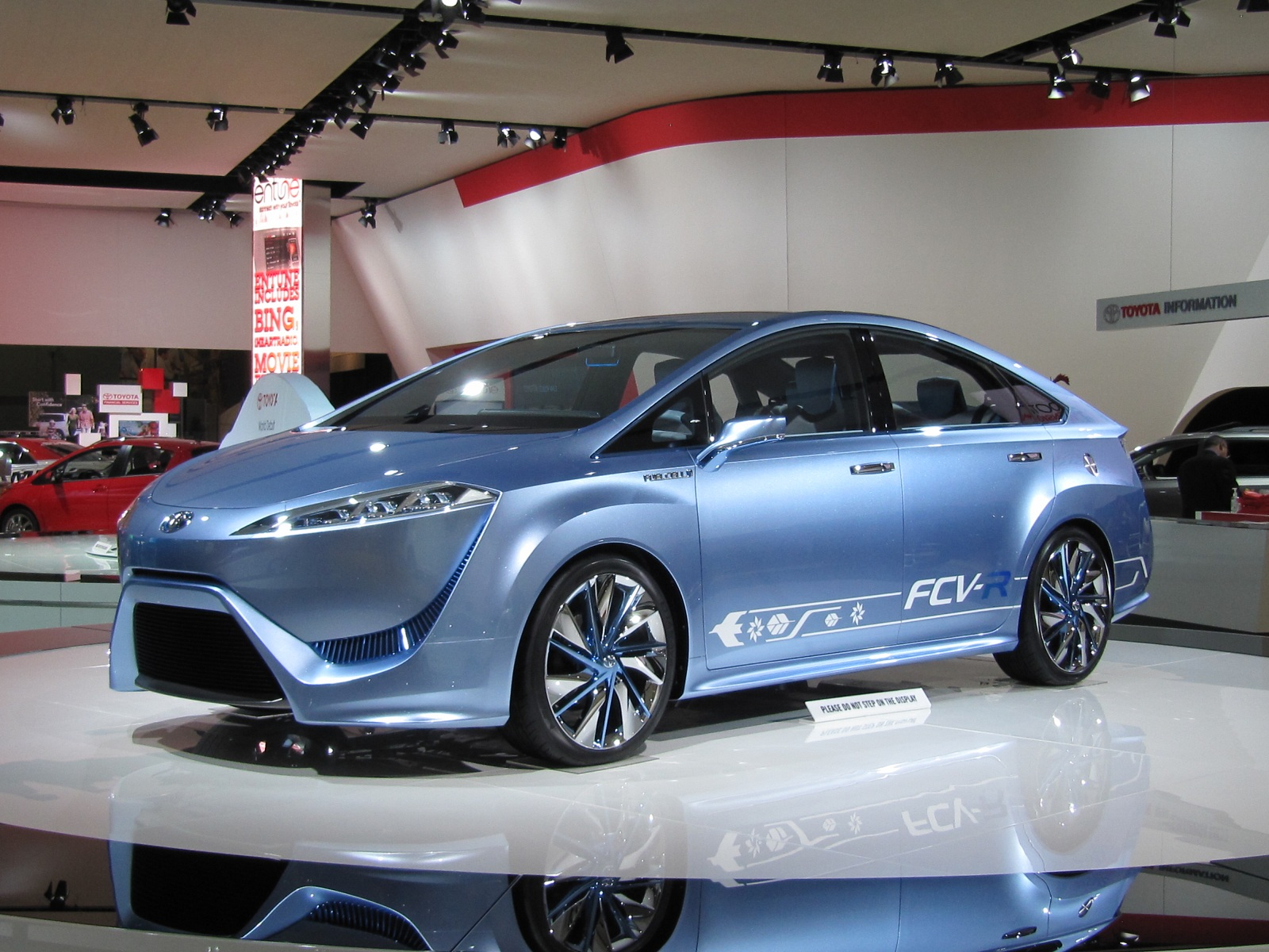 toyota new car release 2012Toyota FCVR Concept Hydrogen FuelCell Vehicle In Detroit Photo