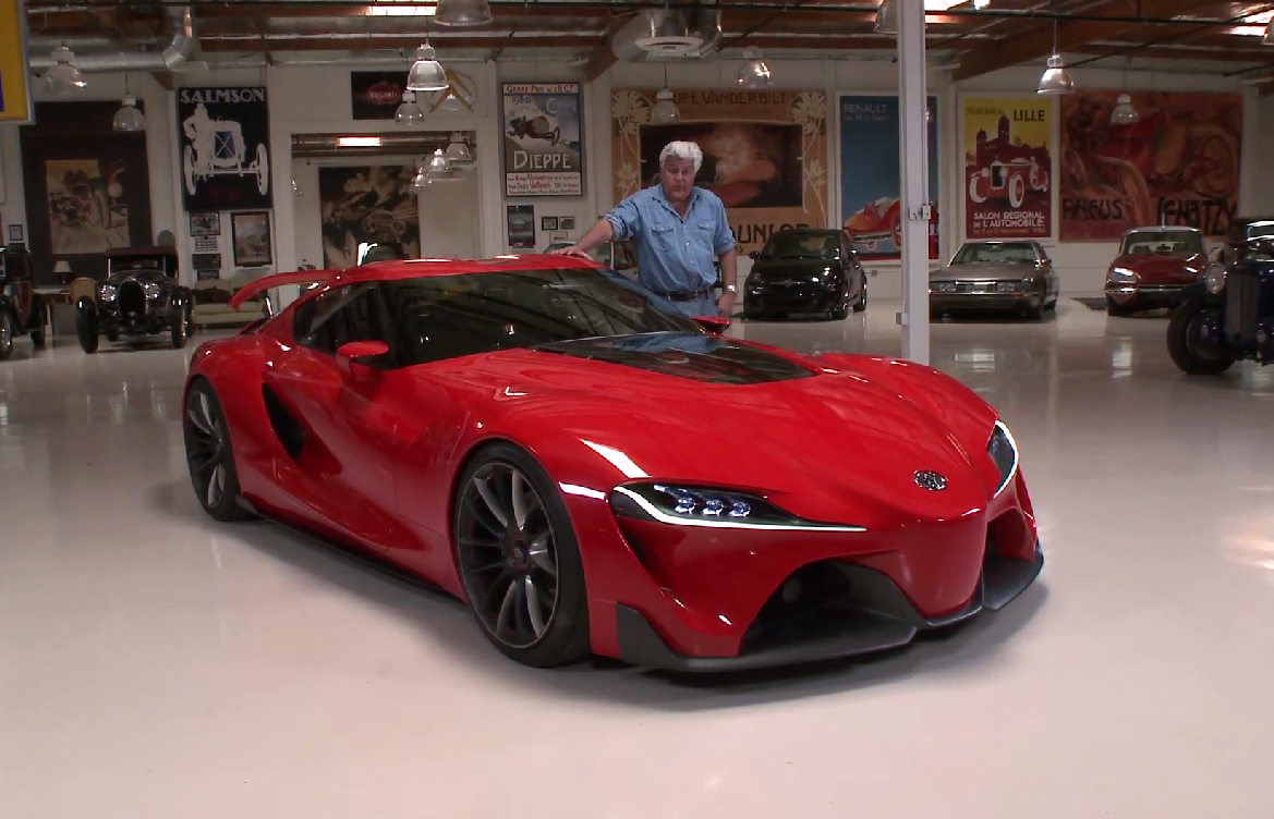 Toyota FT-1 Concept On Jay Leno's Garage: Video