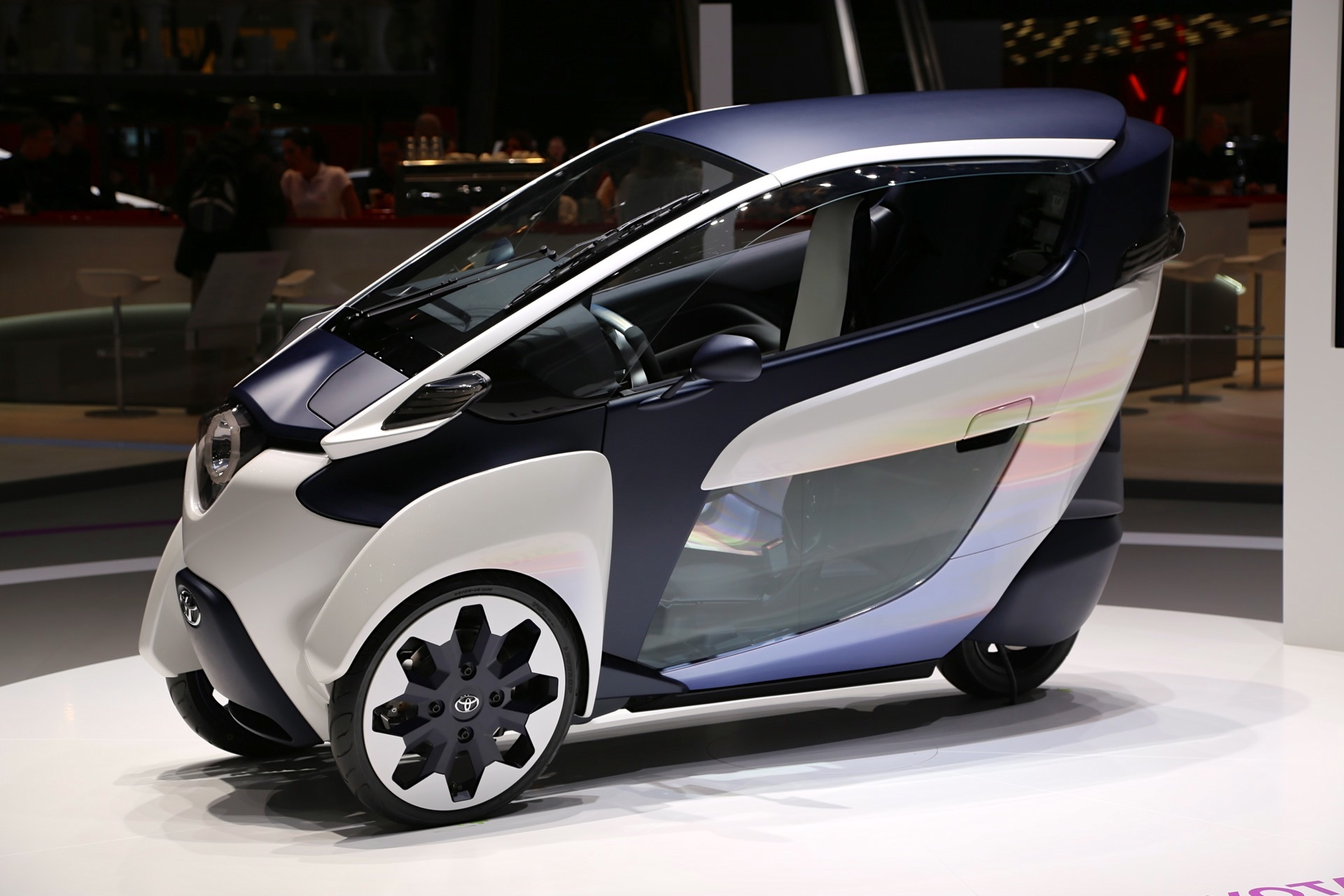 Toyota I Road Electric Microcar Live Photos From Geneva
