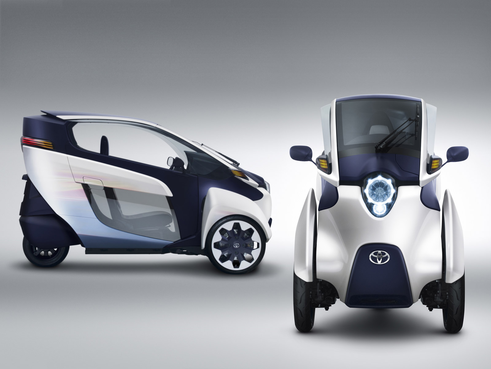 Toyota iRoad Electric Urban Minicar Swarms The Roads Video