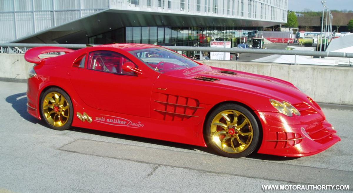 Red Gold Dream Mercedes Mclaren Slr Up For Sale