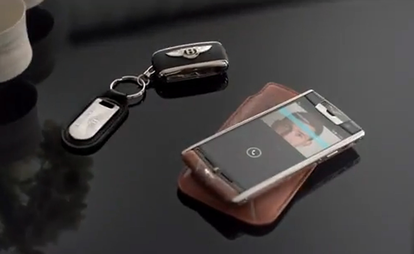 First Vertu For Bentley Smartphone Revealed Costs 17 100 Video