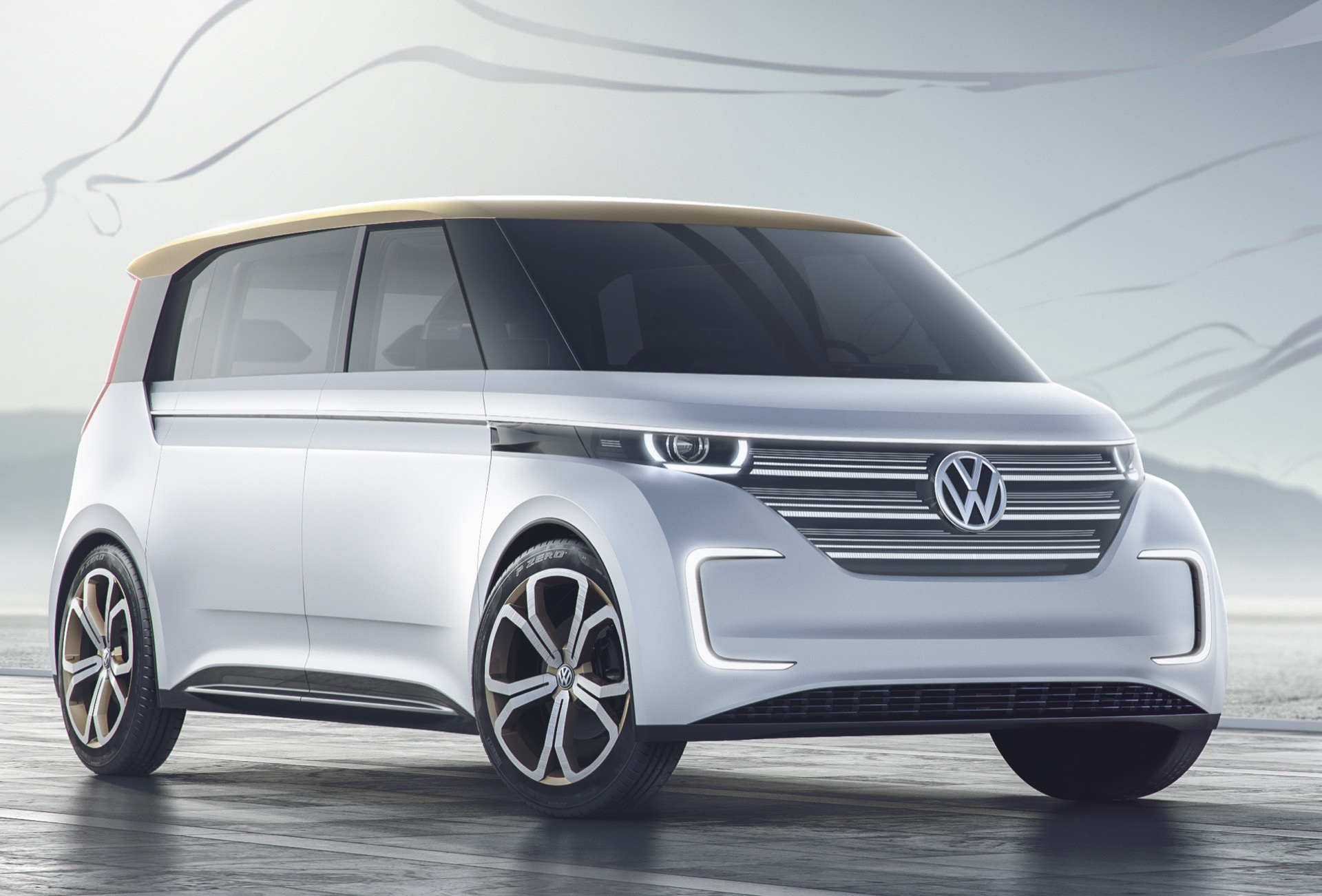 Volkswagen Budd E Concept 373 Mile All Electric Van