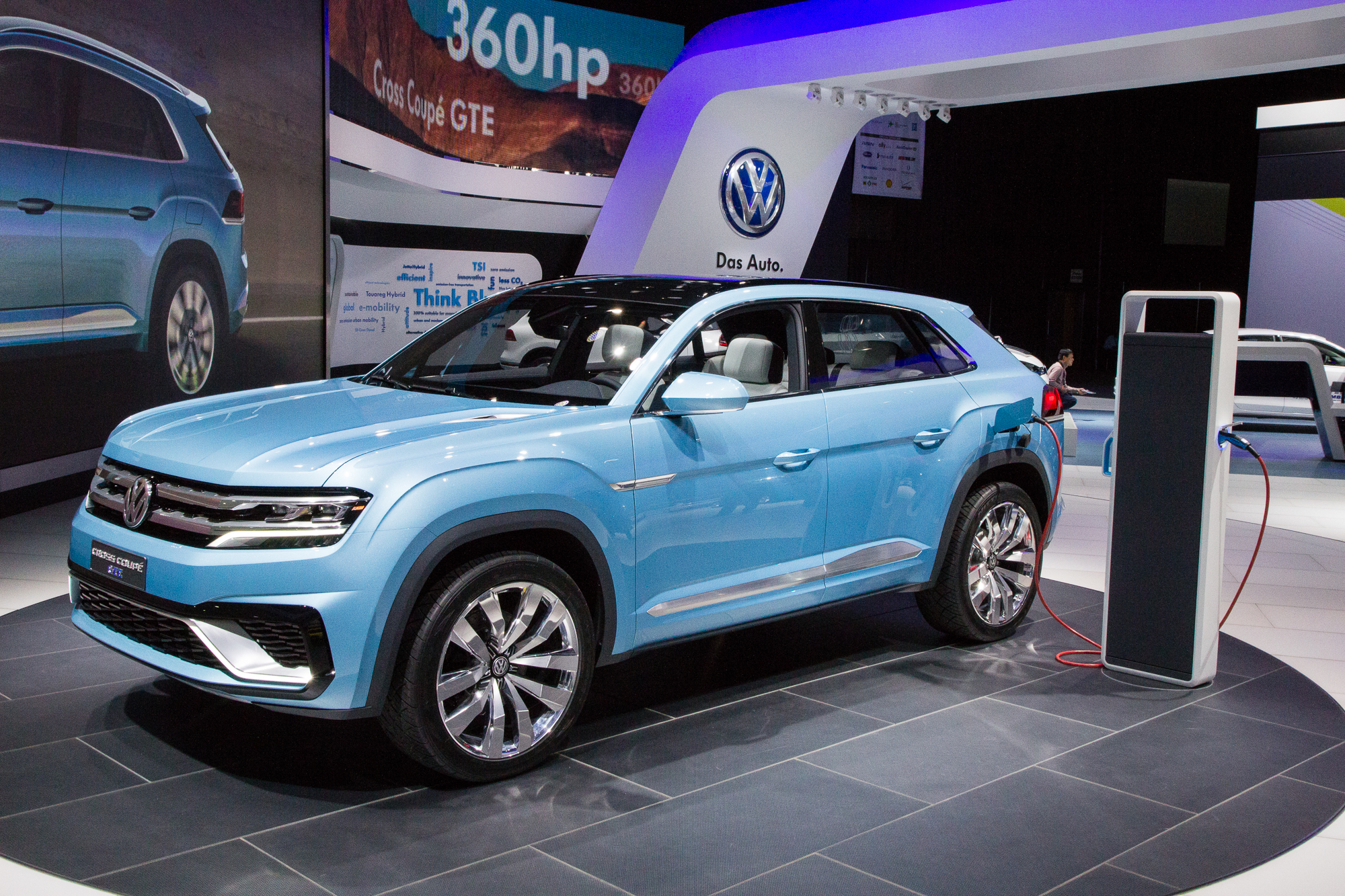 Volkswagen Cross Coupe Plug-In Hybrid Concept: Mid-Size SUV Previewed ...