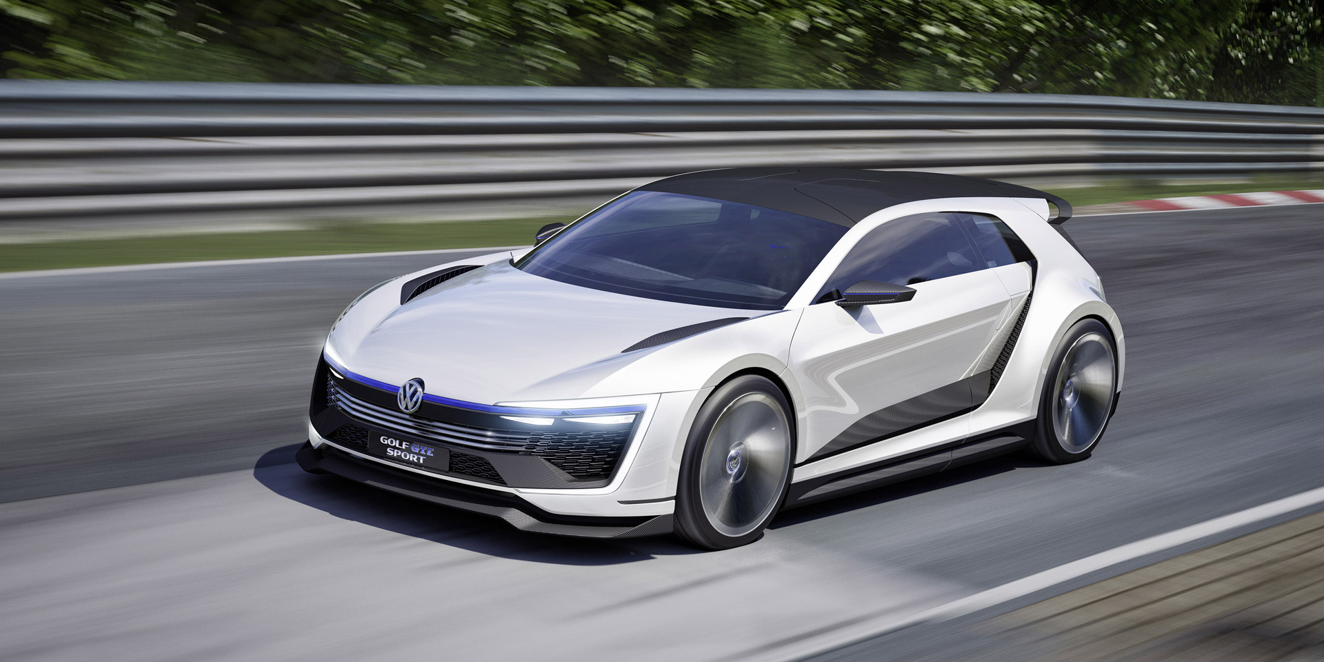Volkswagen Presents 395-Horsepower Golf GTE Sport Concept At 2015 ...