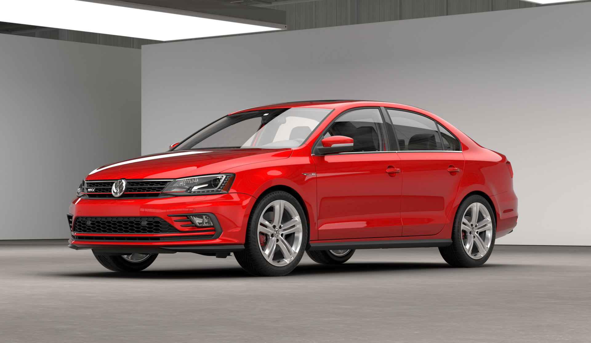 2016 volkswagen jetta gli gets new engine styling. Black Bedroom Furniture Sets. Home Design Ideas